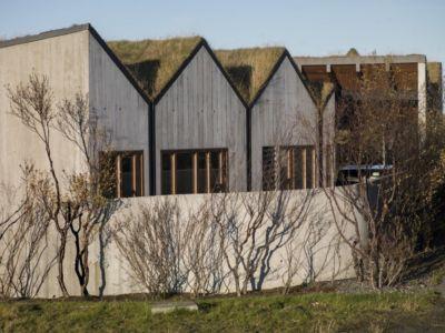 vue extérieure - Bakkaflöt 14 par Studio Granda - Islande