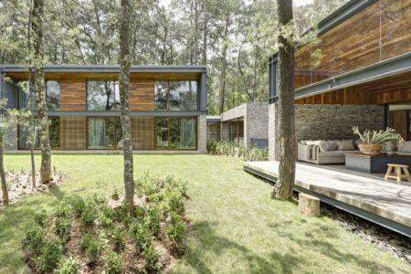 vue extérieure - Casa MM par Elías Rizo Arquitectos - Mexique
