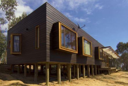 vue extérieure - Casa Tunquén par CO2 Arquitectos - Vaparaiso, Chili