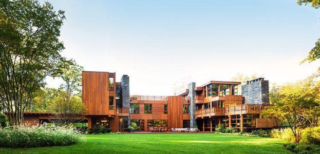vue extérieure - Chalon residence par Dynerman Architects - Bethesda, Usa
