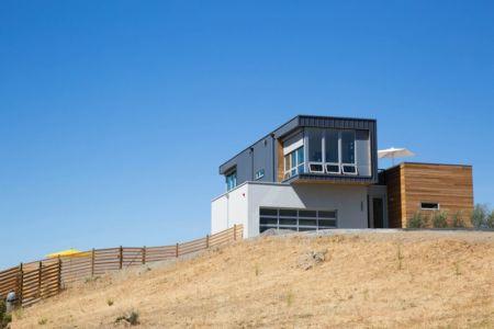 vue extérieure - Cloverdale par Elemental Architecture - Usa - Jaime Kowal Photography