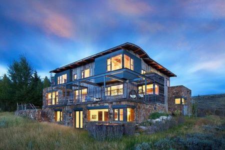 vue extérieure - Contemporary Western par Hoyt Architects & CTA Group - Usa