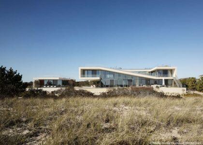 vue extérieure - Long Island House par 1100 Architect - NY, Usa