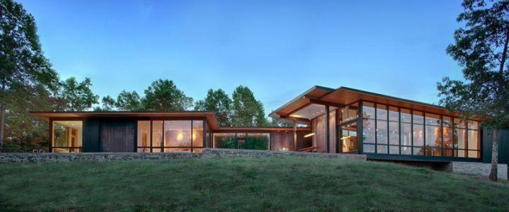 vue extérieure - Piedmont Residence par Carlton Architecture - Asheville, Usa