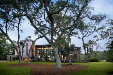 vue extérieure - SC Modern I par SBCH Architects - Bray's Island, Sheldon, Usa
