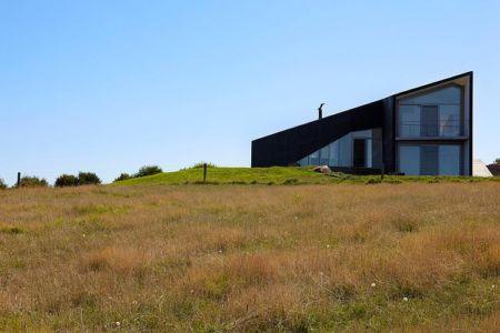 vue extérieure - Scape House par Andrew Simpson Architects - Victoria, Australie
