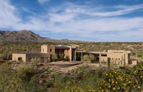vue extérieure - Sefcovic Residence par Tate Studio Architects - Usa