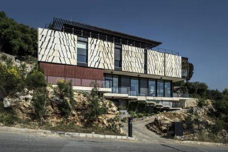 vue extérieure - Tahan Villa par BLANKPAGE Architects - Kfour, Liban