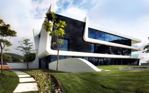 vue extérieure - Weave House par A-cero - Barcelone - Espagne - Photo Marcos Domingo