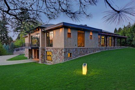vue extérieure côté - West Bellevue House - Washington, USA