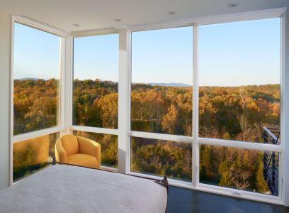 vue extérieure chambre - hawks nest par wiedemann architects - Usa