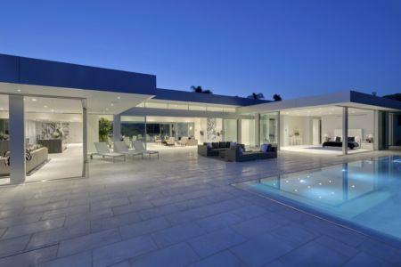 vue extérieure de nuit - Carla Ridge par McClean Design - Beverly Hills, Usa