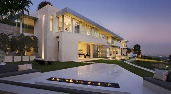vue extérieure de nuit - Sarbonne par McClean Design - Los Angeles, Usa
