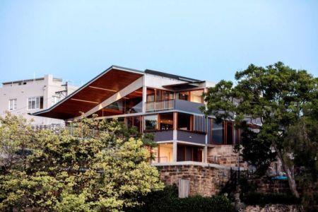 vue extérieure - edge house par Steele Associates - Australie