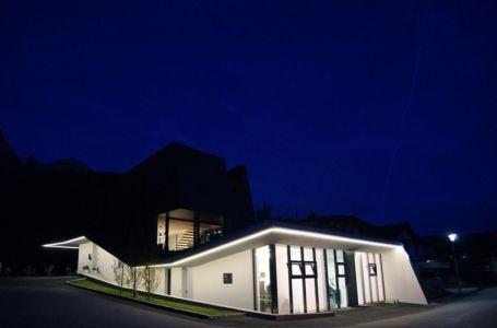 vue extérieure nuit - Muk par mahore architects - Saalfelden, Autriche