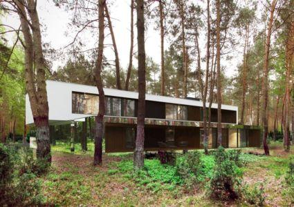 vue extérieure- Izabelin House par REFORM Architekt - Varsovie, Pologne