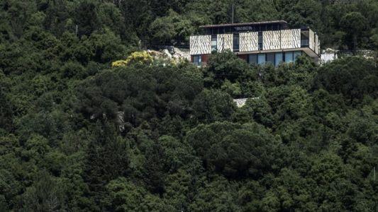 vue façade - Tahan Villa par BLANKPAGE Architects - Kfour, Liban