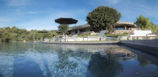 vue façade - Villa Zed à Propriano, Corse