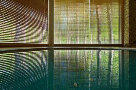 vue jacuzzi - Modern Family House par 4PLIUS Architects - Vilnius, Lituanie