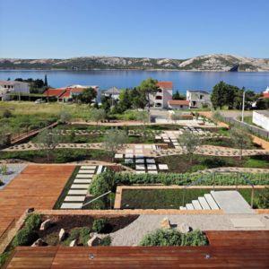 vue jardin - Olive House par LOG-URBIS - Pag, Croatie
