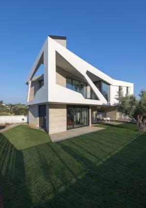 vue jardin terrasse - Paradox house par Klab architecture - Athènes, Grèce