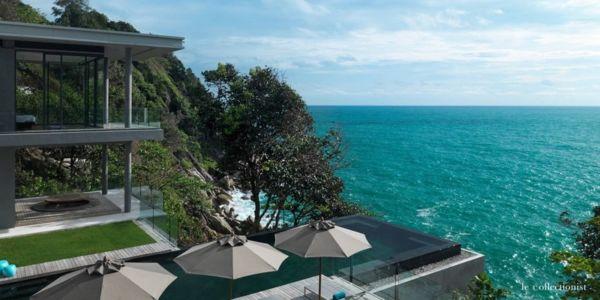 vue sur mer - Villa Kamala-Phuket, Thaïlande