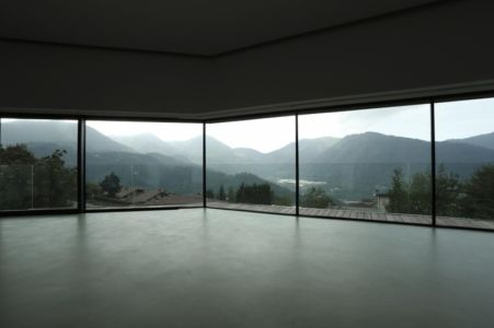 vue panoramique - Alps Villa par Camillo Botticini Architect - Brescia, Italie