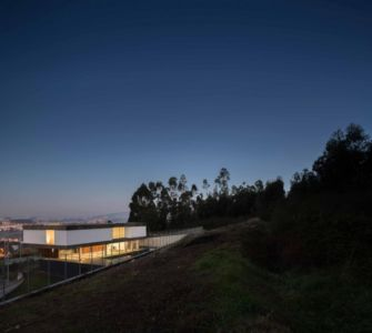 vue panoramique - BE House par Spaceworkers - Paredes, Espagne