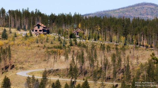 vue panoramique - Camp 88 par Munn Architecture - Colorado, USA