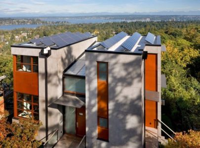 vue panoramique - Capitol Hill par Balance Associates Architects - Seattle, Usa