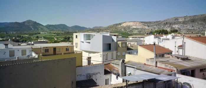vue panoramique - Casa Lude par Grupo Aranea - Cahegin, Espagne