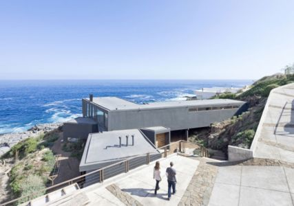 vue panoramique - Catch the Views House par LAND Arquitectos - Zapallar, Chili