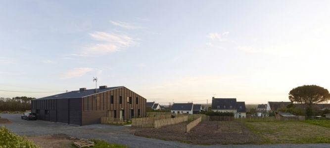 vue panoramique - Etoile Noire par  Angélique Chedemois Architect - Guérande, France