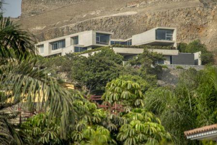 vue panoramique - House-Hillside par Benavides & Watmough arquitectos - Santiago, Pérou