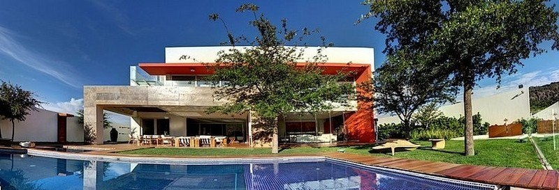 vue panoramique - House-S par Lassala Elenes Arquitectos - Zapopan, Mexique