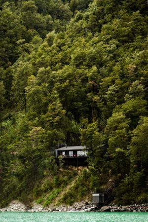 vue panoramique - House-Todos-Los-Santos par Apio Arquitectos - Puerto Montt, Chili