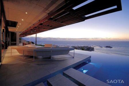 vue panoramique - Kloof 151 par SAOTA - Clifton, Afrique du Sud