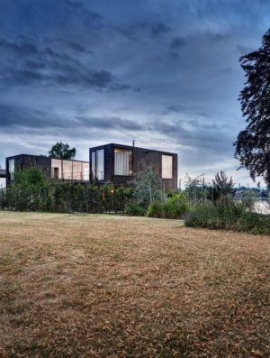 vue panoramique - Lake-House par Maximilien Eisenkock Neufelder, Autriche