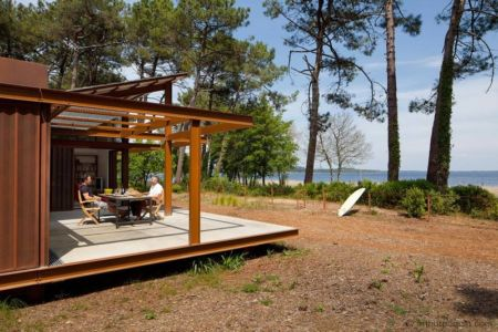 vue panoramique - Maison Alios par Guillaume Cosculluela - Pays Basque, France