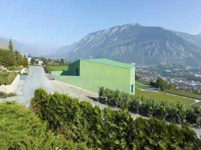 vue panoramique - Maison Iseli par François Meyer architecture - Venthôme, Suisse