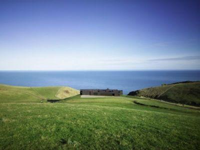 vue panoramique - Modern farmhouse par Pattersons - Muriwai, Nouvelle-Zélande