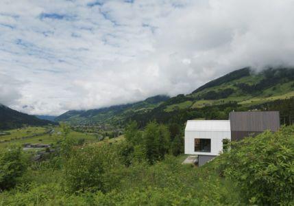 vue panoramique - Mountain-View House par SoNo arhitekti - Kitzbuehel, Slovénie