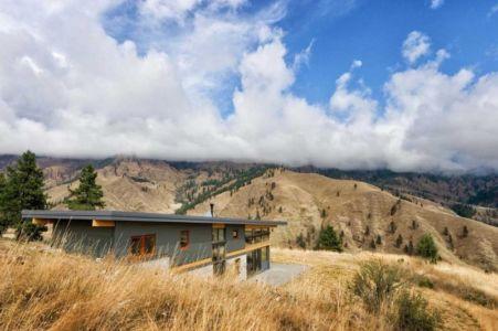 vue panoramique - Nahahum Canyon House par Balance Associates - Nahahum Canyon, Usa