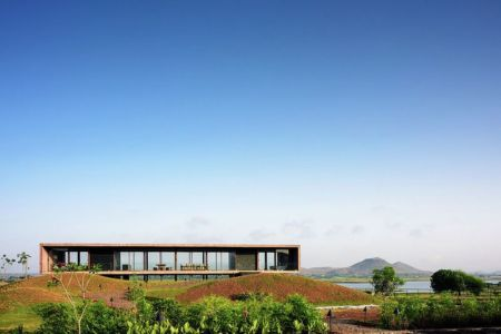 vue panoramique - Panorama House par Ajay Sonar - Maharashtra, Inde