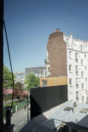 vue panoramique - Saganaki House par BUMParchitectes, France
