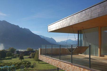vue panoramique - Schaan Residence par K_M Architektur - Liechtenstein