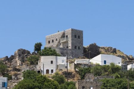 vue panoramique - Sterna Nisyros par  Giorgos Tsironis - Nisyros en Grèce
