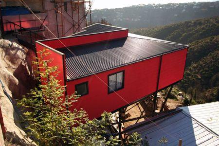 vue panoramique - Suarez-House par Arq2g-arquitectura - Valparaíso, Chili