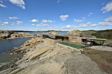 vue panoramique - Summer-House par JVA - Vestfold, Norvège