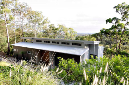 vue panoramique - Treetops Residence par Artas Architects & D Pearce Constructions - Toowong, Australie